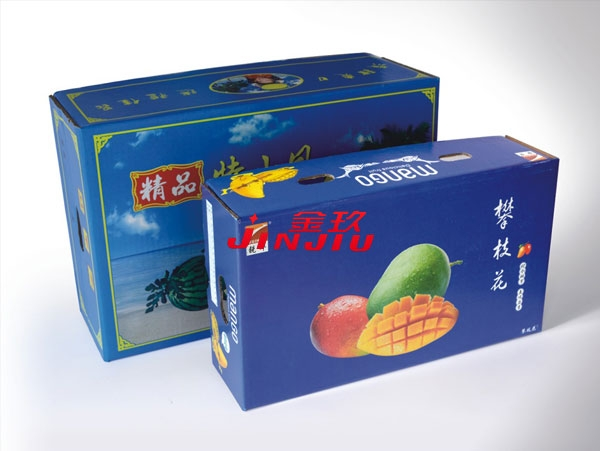 Fruit box production and processing molding