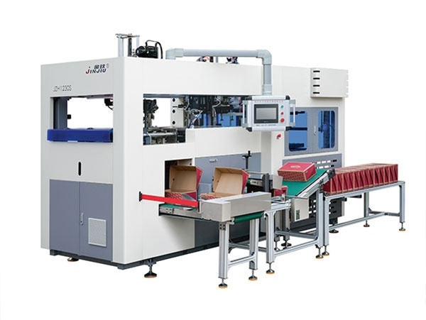 High speed carton forming machine